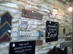 Hand Made Signs