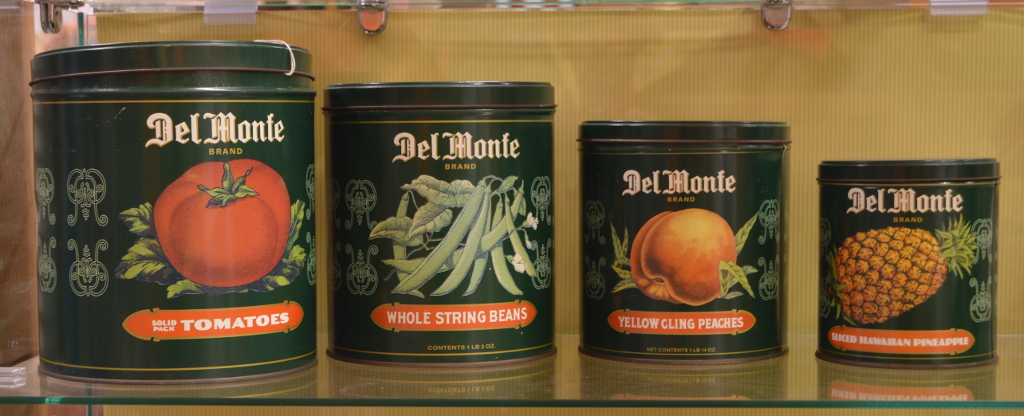 Antique Del Monte Tins