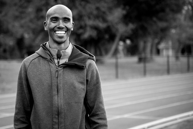 Sir Mo Farah Athletics Track Inauguration