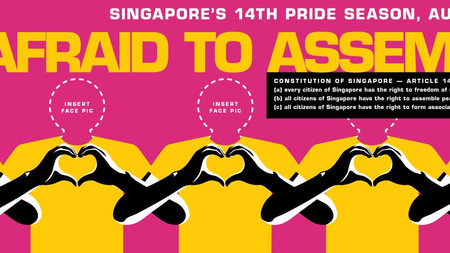 Unafraid To Assemble In Singapore