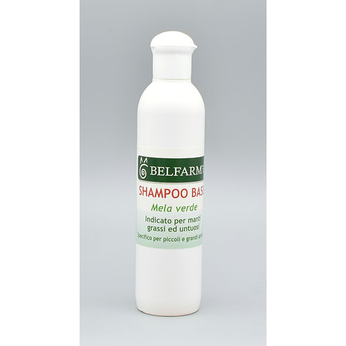 Shampoo Base Mela Verde 250 ml