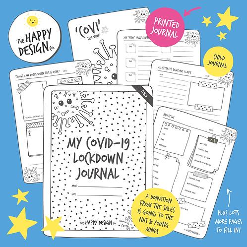 My Lockdown Journal (Child) PRINTED VERSION