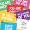 Thumbnail: I'M SO PROUD OF YOU - HAPPY MINI CARDS x 12