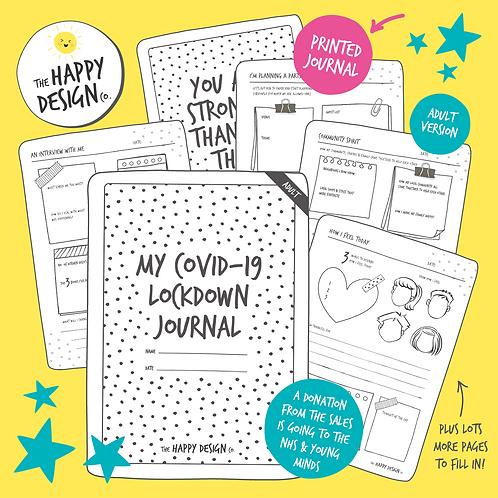 My Lockdown Journal (Adult) PRINTED VERSION