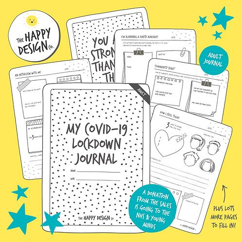 My Lockdown Journal (Adult)