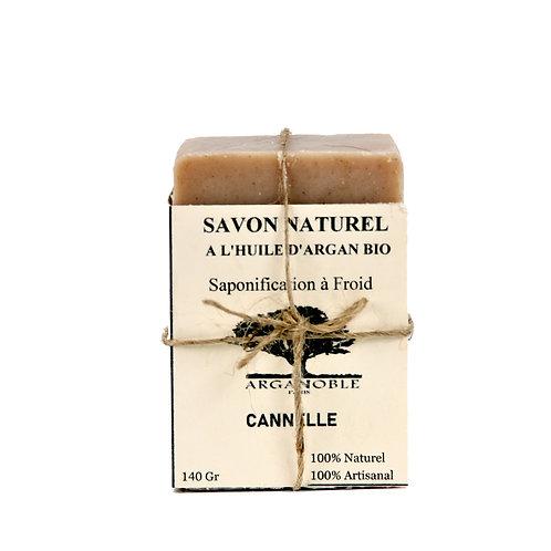Savon naturel à l'huile d'Argan Bio - Cannelle