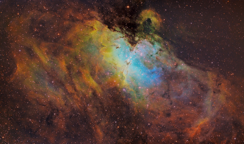 Messier 16 Mosaic