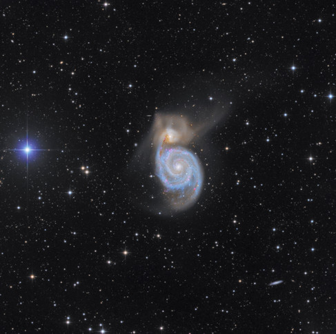 Messier 51 - The Whirlpool Galaxy