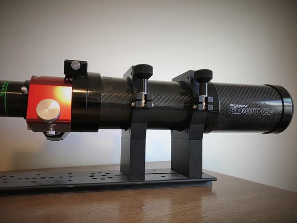 ED80TCF - Home Observatory