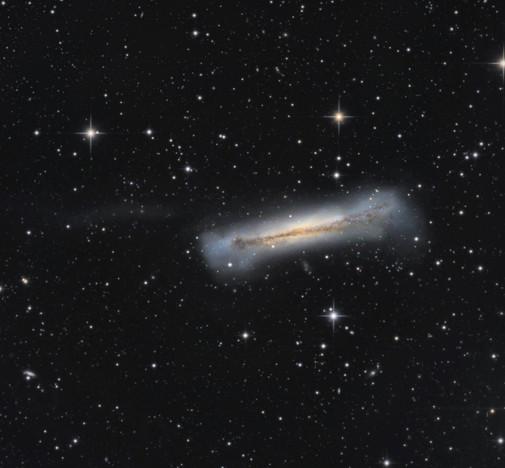NGC 3628 The Hamburger