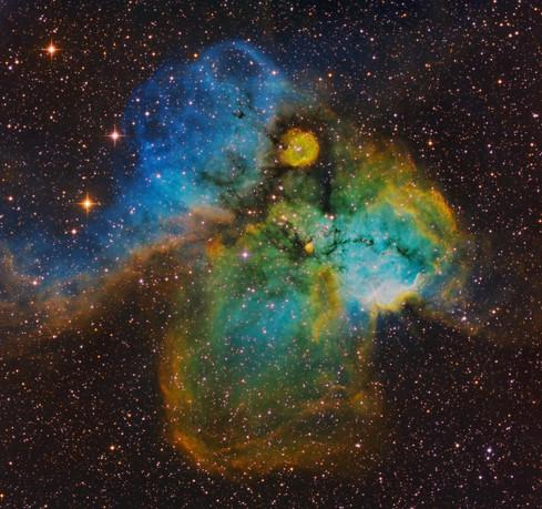 NGC 2467 - Skull and Crossbones Nebula
