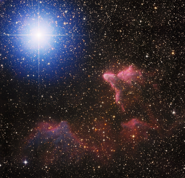IC 63 - The Ghost of Cassiopeia