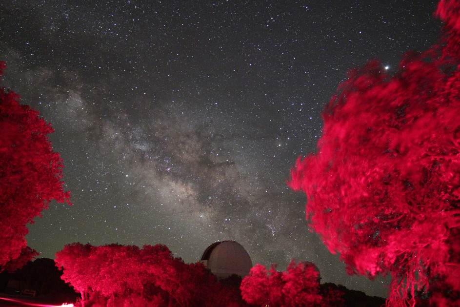 Galaxy Over Kitt Peak's 2.1M