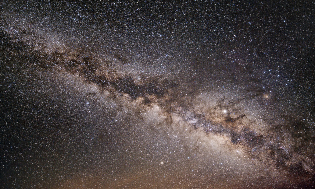 Stacked Milkyway