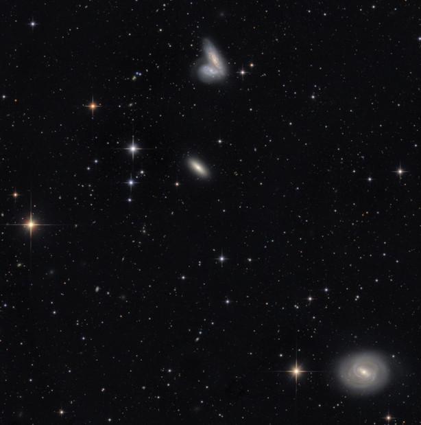NGC 4568 and M58