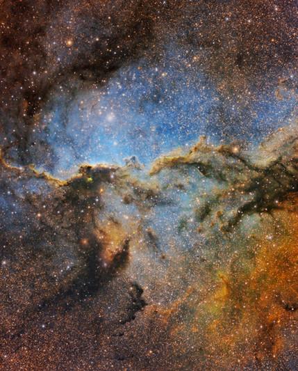 NGC 6188 SHORGB