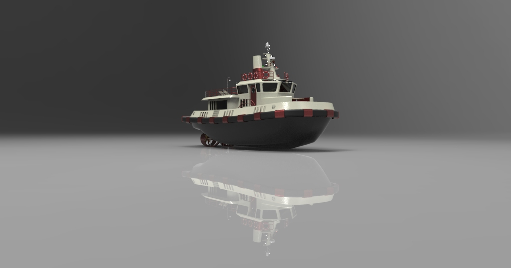 19.00 m Tug Yacht Design Project