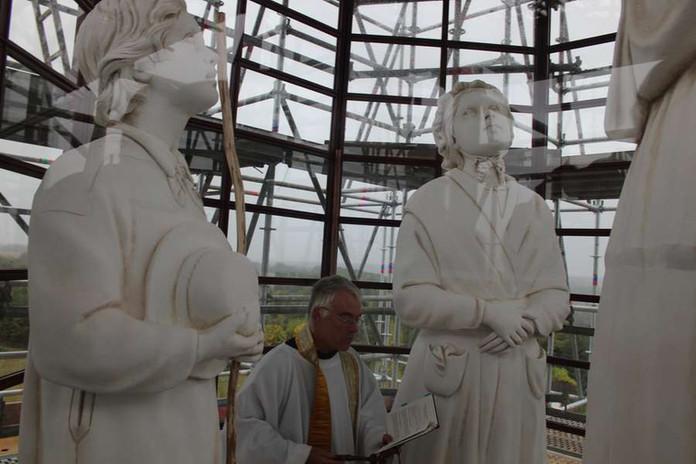 Septembre 2019 Bénédiction des statues