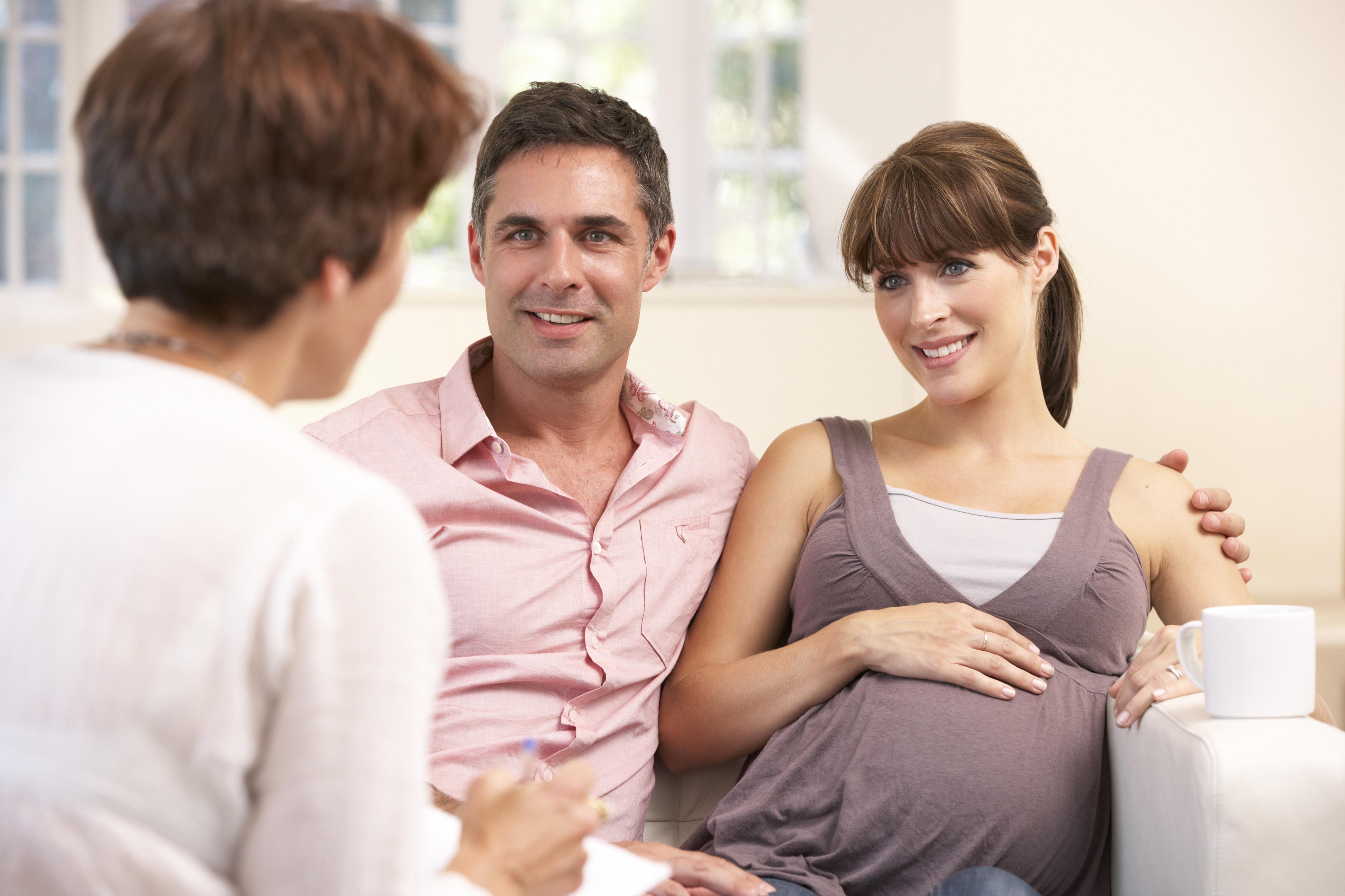 Eérste prenatale consultatie in praktijk