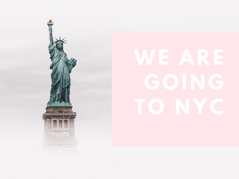 We Are Going to NYC