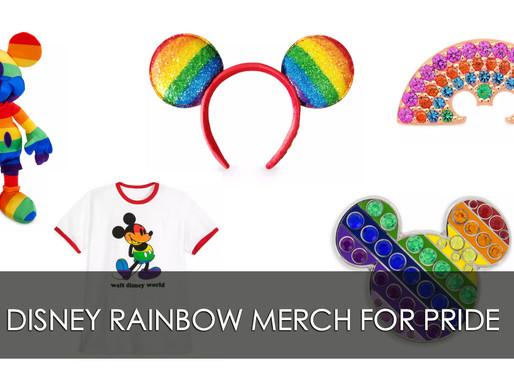 Rainbow Disney Merch For Pride!