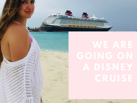 We are going on a Disney Cruise!