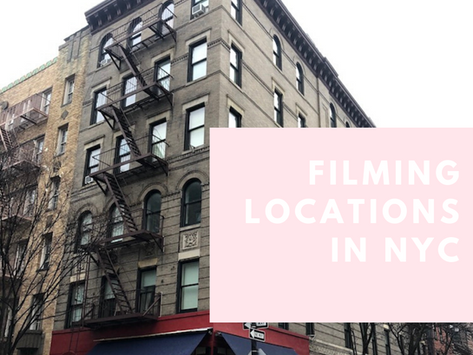 NYC Filming Location