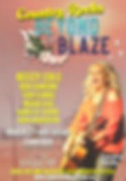 Beyone The Blaze - concert two - artist