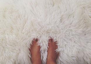 毛皮のカーペット