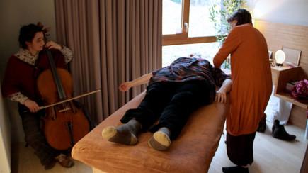 Massage et violoncelle