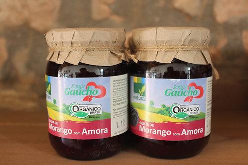 Geléia de morango com amora - Orgânica