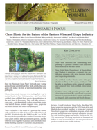 Clean Plants for the Future of the Eastern Wine and Grape Industry