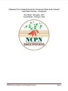 Minimum Virus Testing Protocols for Sweetpotato Plants in NCPN