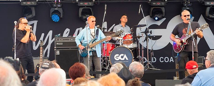 Broadbeach Blues Festival 2019 with Blues Corp - Under The Sails Stage