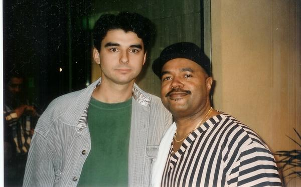 With Dennis Chambers
