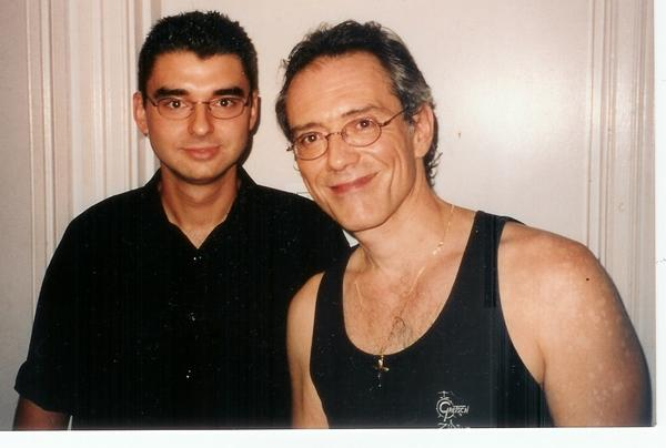 Vinnie Colauita | Backstage at Tivoli Brisbane