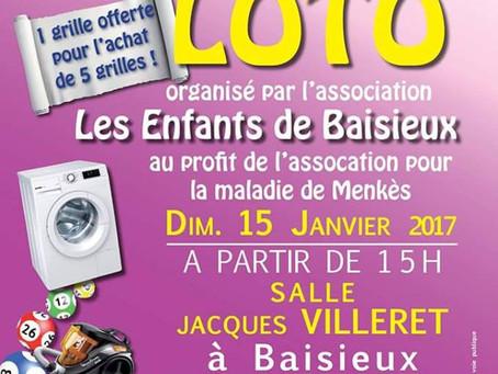 Loto Baisieux janv 2017