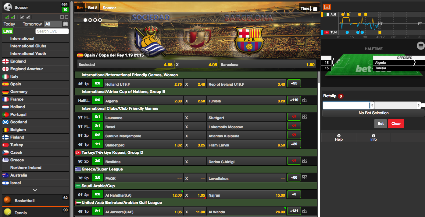 Betting Platform
