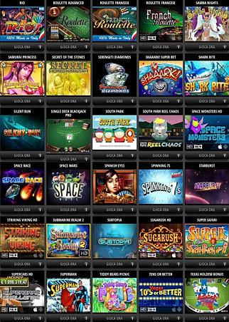 Aprire sala slot machine