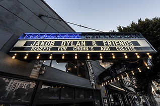 Jakob Dylan and Friends, a fund raising event for Crohn's and Colitis patients