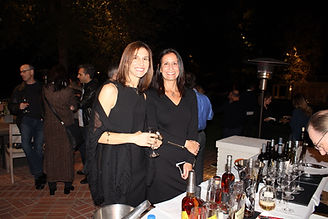Stacy Dylan and Dana Zatulove at Connecting to Cure fundraising event