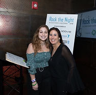 Attendees at the Rock the Night music event
