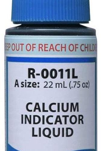 R-0011L-A .75 OZ CALCIUM INDICATOR LIQ REAGENT
