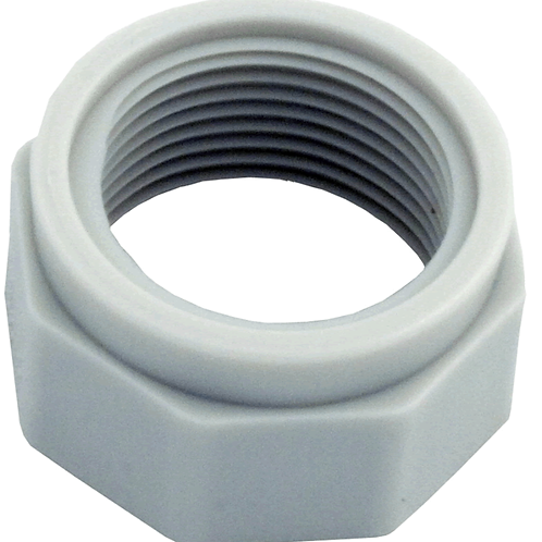 D15 380/280/180 WHITE FEED HOSE NUT