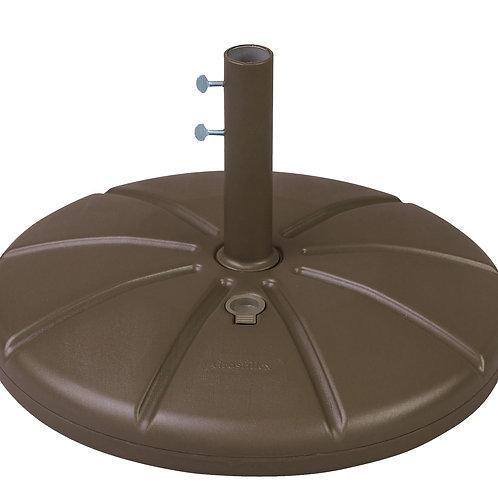 GROSFILEX Resin Umbrella Base with Filling Cap Bronze