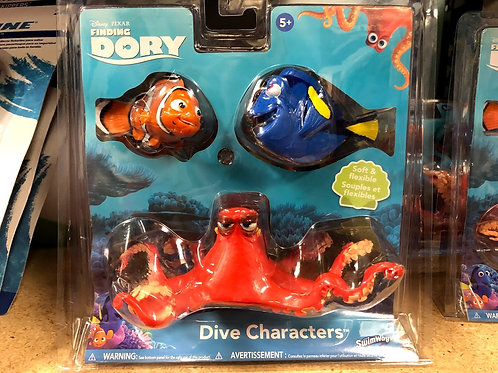 Dive Characters Finding Dory