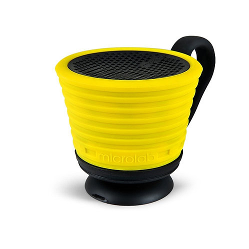 Magic Cup Waterproof Bluetooth Speaker- YELLOW