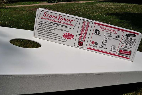Score Tower With Single (1) Drink Holder