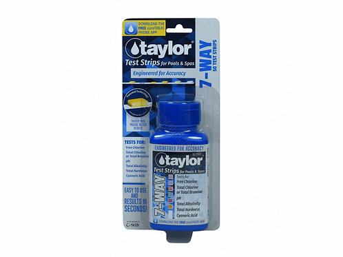 TAYLOR 50 CT 7 WAY TEST STRIP