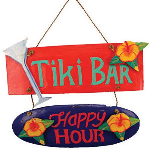 Tiki Bar/Happy Hour Wall Decor